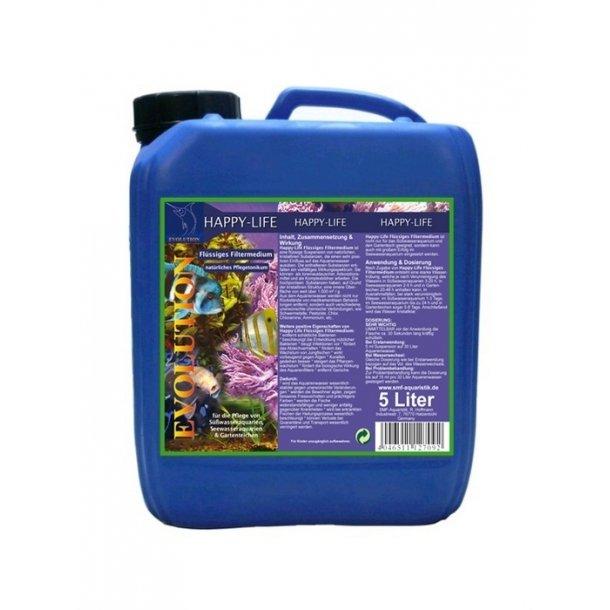 Happy-Life Flydende filtermedium 5 liter